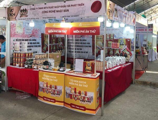 Kochi tại hội chợ triển lãm kích cầu tiêu dùng 2020