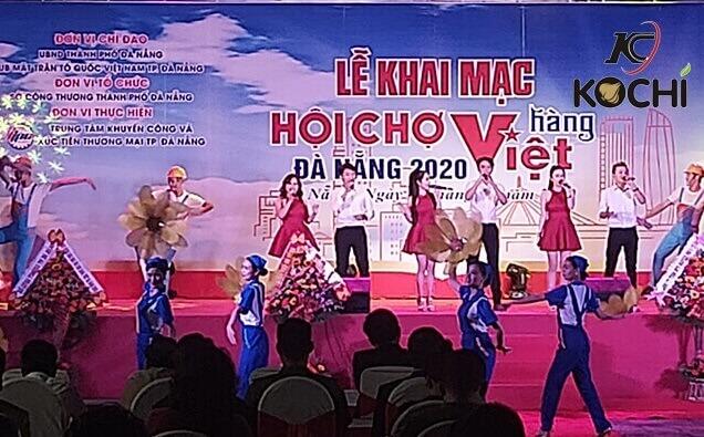 Lễ khai mạc Hội chợ hàng Việt Đà Nẵng 2020