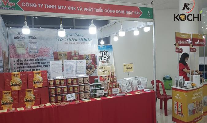 Thương hiệu Tỏi đen Kochi và Hà thủ ô đỏ chế Kochi tham dự hội chợ hàng Việt Đà Nẵng 2020