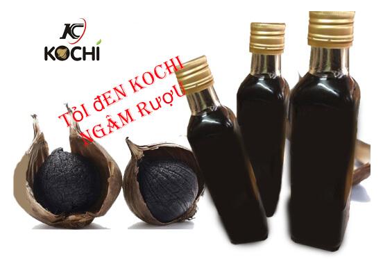 Rượu tỏi đen- thơm ngon bổ dưỡng không kém loại rượu ngâm nào