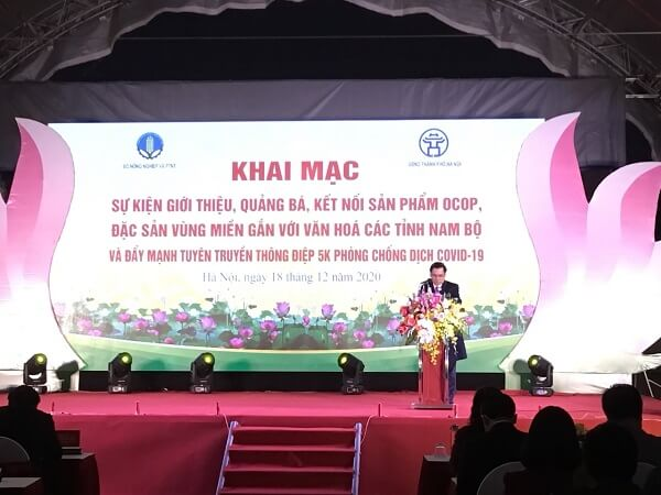 Khai mạc sự kiện giới thiệu, quảng bá, kết nối các sản phẩm OCOP