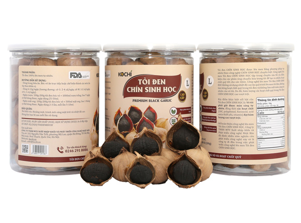 sử dụng đúng cách giúp hạn chế tác hại của tỏi đen