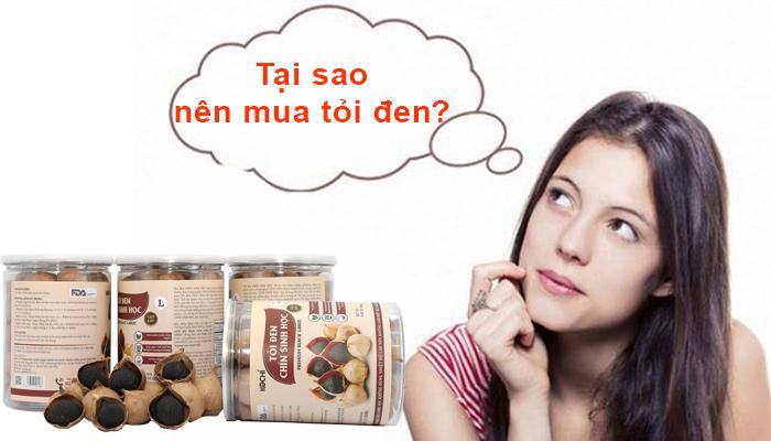 Tại sao nên mua tỏi đen?