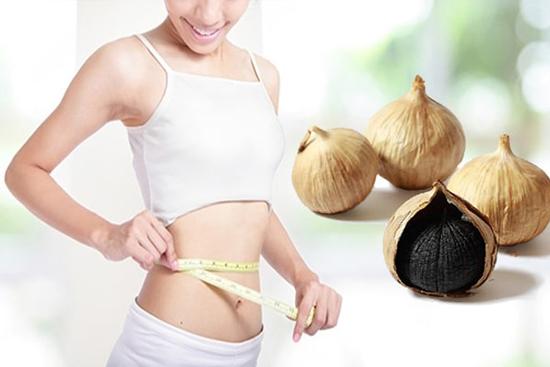 tác dụng của tỏi đen với phụ nữ trong việc giảm cân