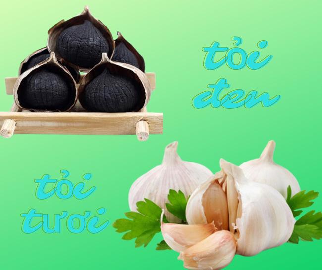 nguồn gốc của tỏi đen về mặt nguyên liệu