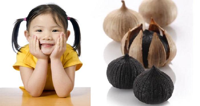 tỏi đen cho trẻ em có tốt không